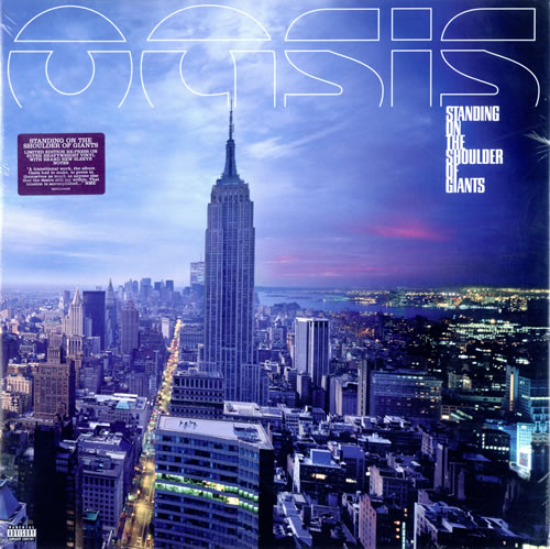 Oasis (UK) Standing On The Shoulder Of Giants [2009 Edition] vinyl LP album (LP record) UK OASLPST474968
