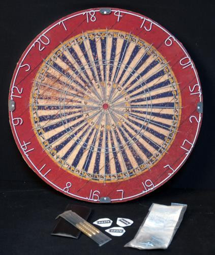 Oasis (UK) Stop The Clocks - Dartboard memorabilia UK OASMMST382208