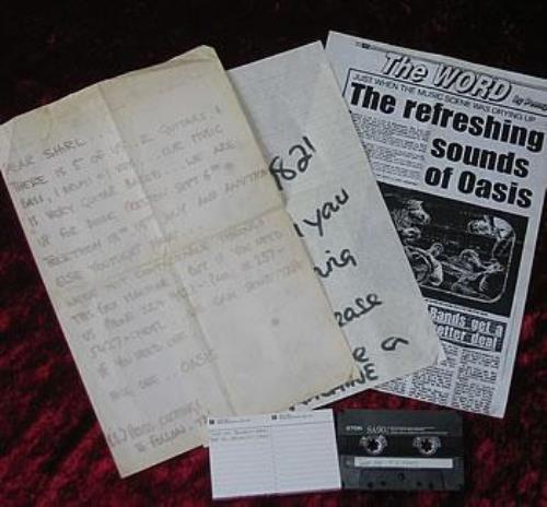 Oasis (UK) Take Me Demo Tape cassette single UK OASCSTA322131
