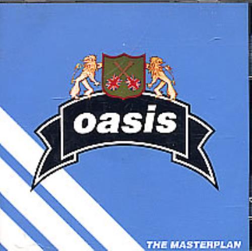 Oasis Uk The Masterplan Us Promo Cd Album Cdlp 124772