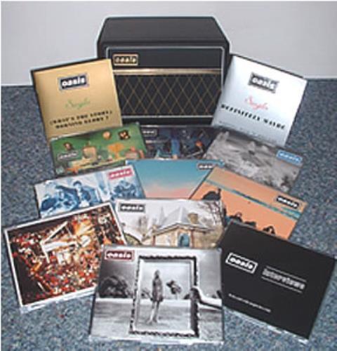 Oasis Uk Vox Amplifier Box No Cardboard Outer Box Uk