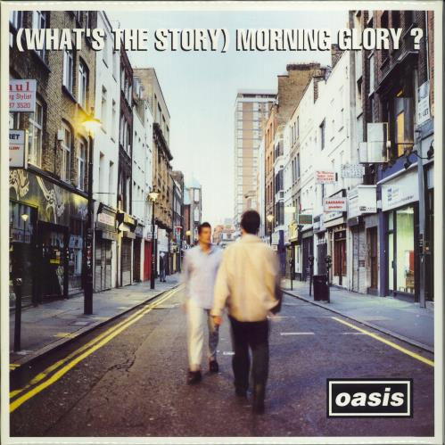 Oasis (What's The Story) Morning Glory? - 1st 2-LP vinyl record set (Double Album) UK OAS2LWH77068
