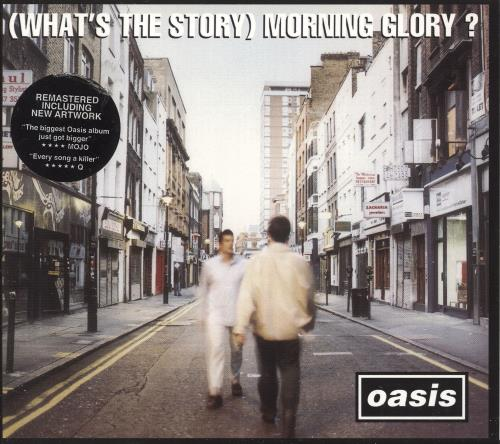 Oasis (What's The Story) Morning Glory? CD album (CDLP) UK OASCDWH744667
