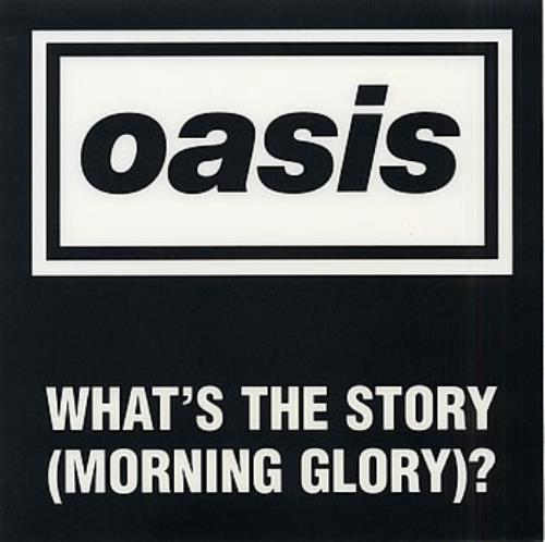 Oasis (What's The Story) Morning Glory Promo Floor Poster memorabilia UK OASMMWH285114