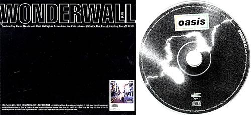 cd oasis wonderwall