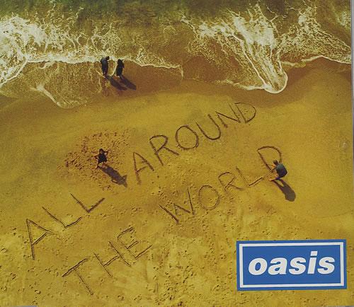 "Oasis All Around The World CD single (CD5 / 5"") UK OASC5AL105152"