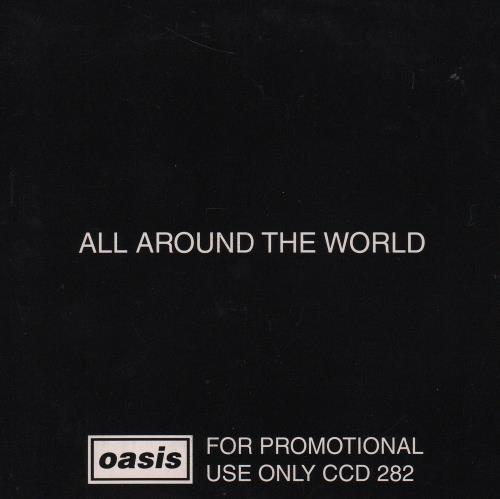 "Oasis All Around The World CD single (CD5 / 5"") UK OASC5AL114221"