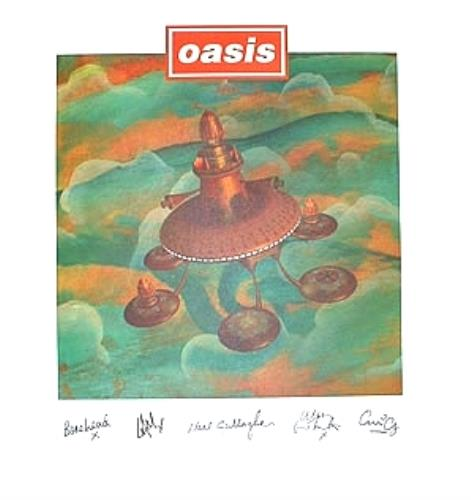 Oasis All Around The World display US OASDIAL313639