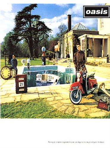 Oasis Be Here Now book UK OASBKBE266191