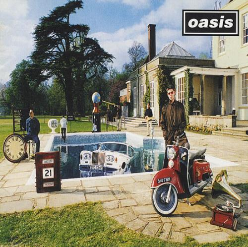 Oasis Be Here Now CD album (CDLP) UK OASCDBE370436
