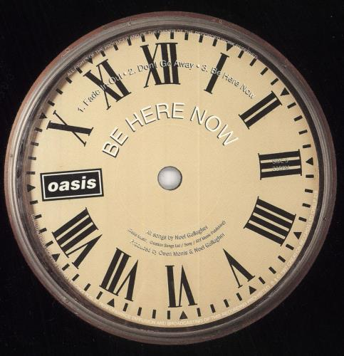 Oasis Be Here Now 2-LP vinyl record set (Double Album) UK OAS2LBE92641