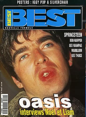 Oasis Best - April 1996 magazine French OASMABE293702