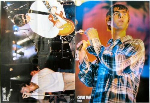 Oasis Chart Max magazine UK OASMACH377749