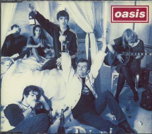 """Oasis Cigarettes & Alcohol CD single (CD5 / 5"""") UK OASC5CI64521"""