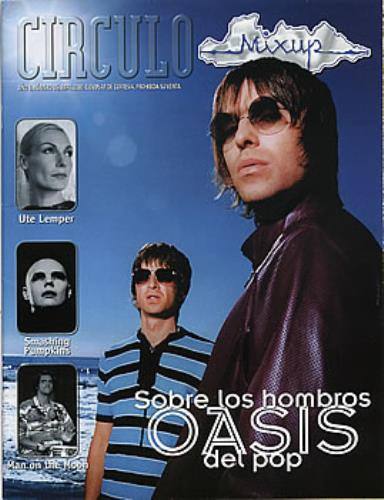 Oasis Circulo magazine Mexican OASMACI291646