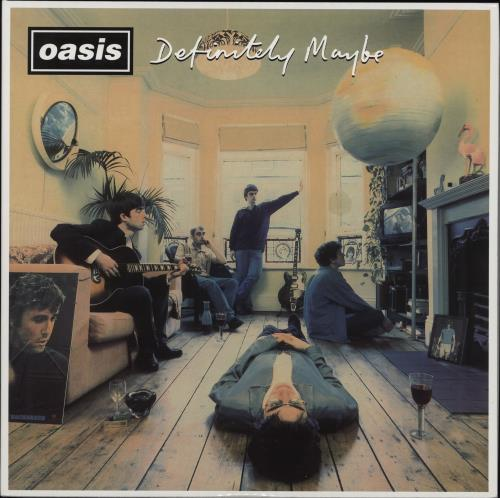 Oasis Definitely Maybe - 180gm Vinyl 2-LP vinyl record set (Double Album) UK OAS2LDE674497