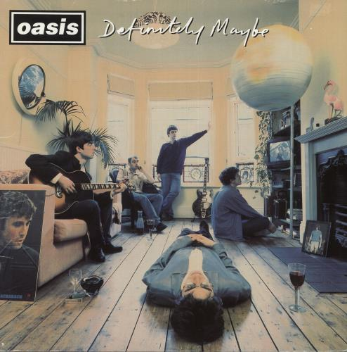 Oasis Definitely Maybe - 1st - EX 2-LP vinyl record set (Double Album) UK OAS2LDE256805