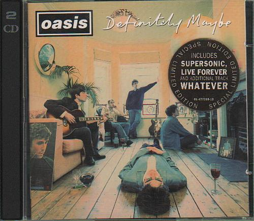 Oasis Definitely Maybe - Special Limited Edition 2 CD album set (Double CD) Austrian OAS2CDE119943