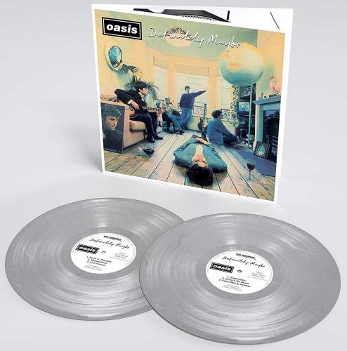 Oasis Definitely Maybe: 25th Anniversary - Silver Vinyl - Sealed 2-LP vinyl record set (Double Album) UK OAS2LDE728868
