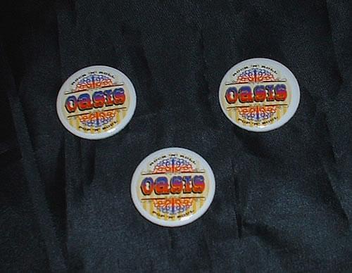 Oasis Don't Believe The Truth badge UK OASBGDO328117