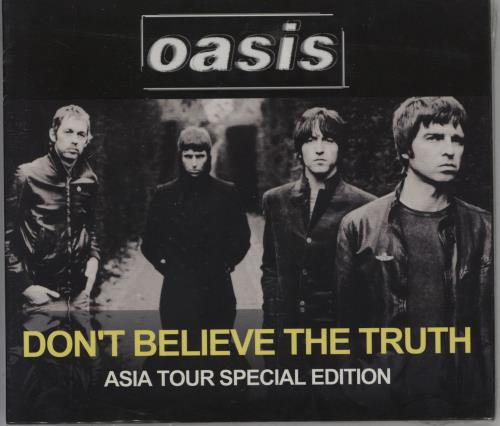 Oasis Don't Believe The Truth 2 CD album set (Double CD) Hong Kong OAS2CDO352367