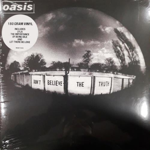 Oasis Don't Believe The Truth vinyl LP album (LP record) UK OASLPDO755020