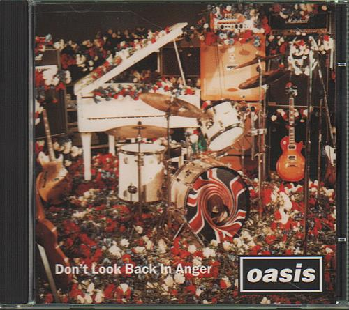 """Oasis Don't Look Back In Anger CD single (CD5 / 5"""") US OASC5DO68749"""