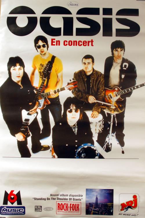Oasis En Concert poster French OASPOEN622124