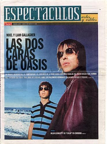Oasis Espectaculos magazine Argentinean OASMAES294964