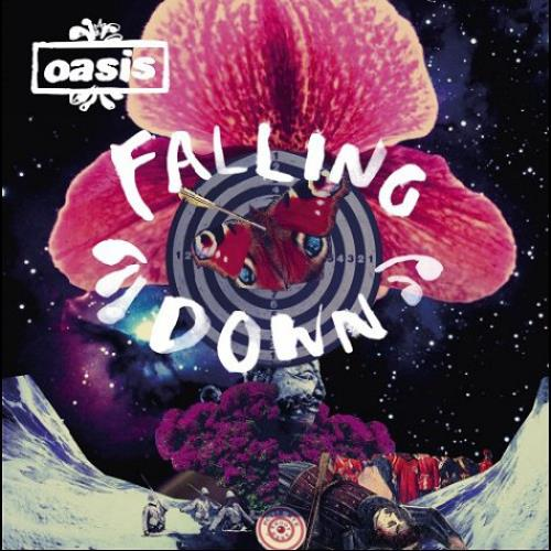 "Oasis Falling Down 7"" vinyl single (7 inch record) UK OAS07FA462141"