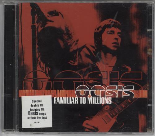 Oasis Familiar To Millions 2 CD album set (Double CD) Austrian OAS2CFA283017