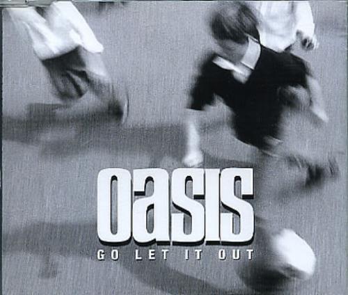 "Oasis Go Let It Out - Withdrawn Logo CD single (CD5 / 5"") Austrian OASC5GO150949"