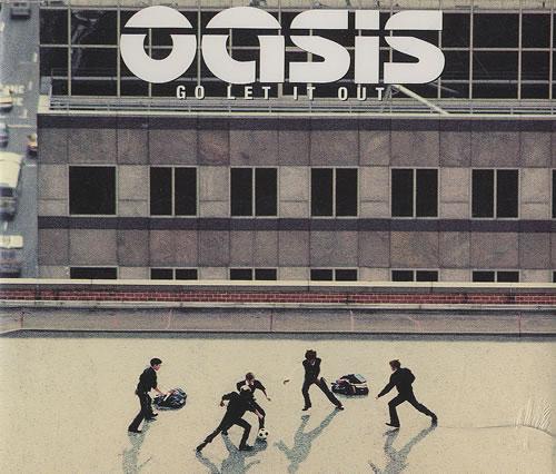 "Oasis Go Let It Out CD single (CD5 / 5"") UK OASC5GO192625"
