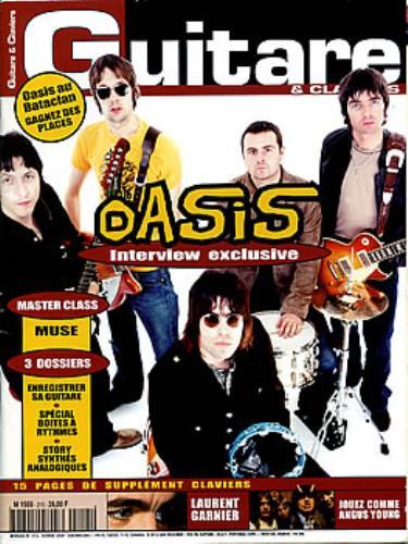 Oasis Guitare & Claviers - February 2000 magazine French OASMAGU295291