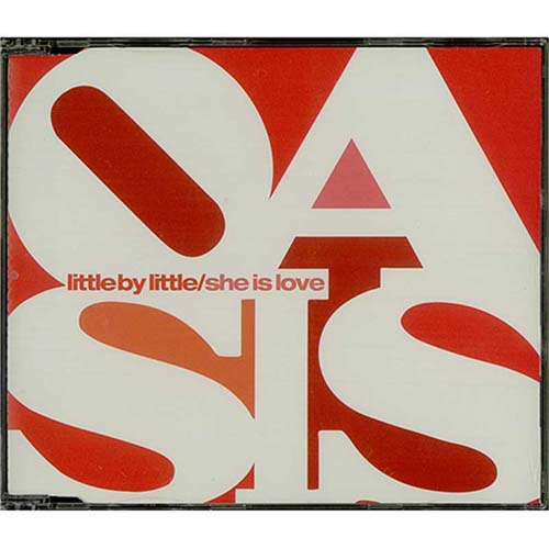 """Oasis Little By Little / She Is Love CD single (CD5 / 5"""") UK OASC5LI230253"""
