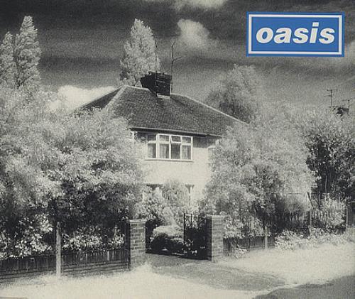 """Oasis Live Forever CD single (CD5 / 5"""") UK OASC5LI34757"""