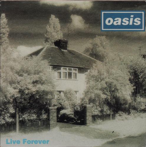 """Oasis Live Forever CD single (CD5 / 5"""") Australian OASC5LI37709"""