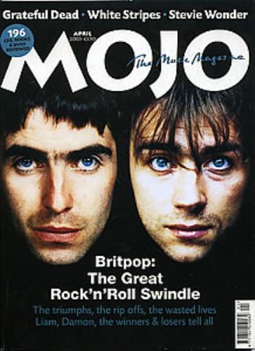 Oasis Mojo magazine UK OASMAMO281490