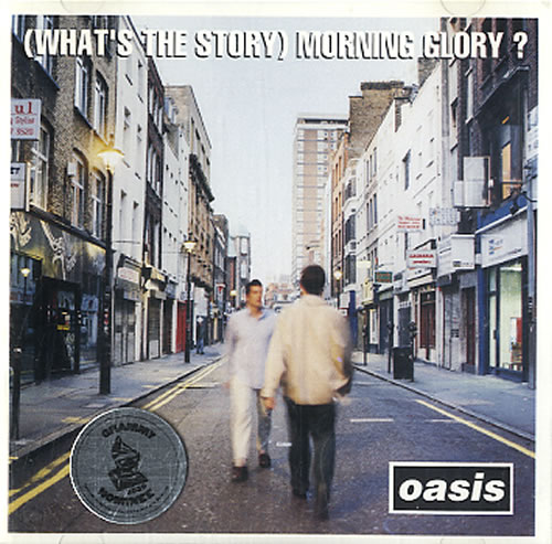 Oasis Morning Glory CD album (CDLP) US OASCDMO64574