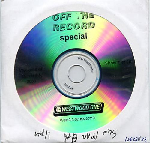 Oasis Off The Record Special CD album (CDLP) US OASCDOF274157