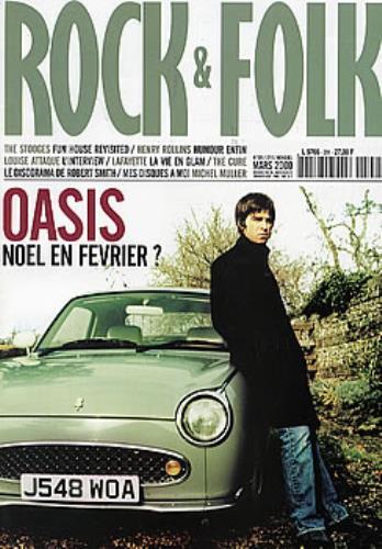 Oasis Rock & Folk magazine French OASMARO292132