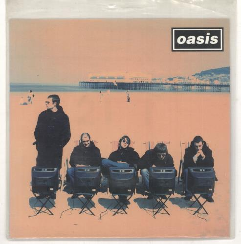 "Oasis Roll With It 7"" vinyl single (7 inch record) UK OAS07RO51397"