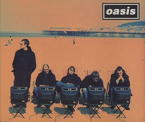 "Oasis Roll With It CD single (CD5 / 5"") UK OASC5RO84559"