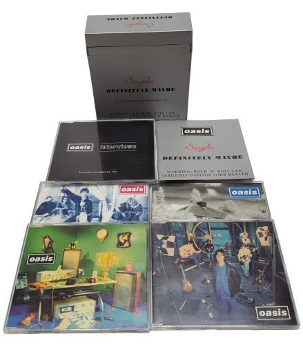 Oasis Singles - Definitely Maybe CD Single Box Set UK OASCXSI261930