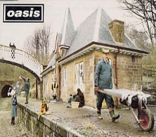"""Oasis Some Might Say CD single (CD5 / 5"""") UK OASC5SO79891"""