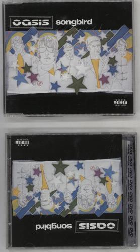 Oasis Songbird CD/DVD single set UK OASSDSO230717