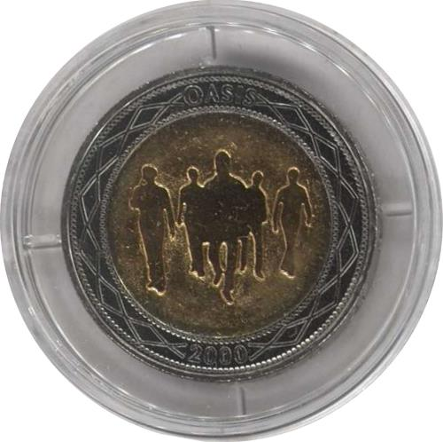 Oasis Standing On The Shoulder Of Giants - �coin memorabilia UK OASMMST154317