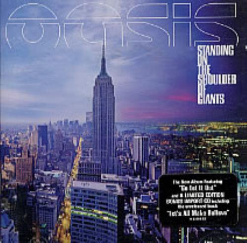 Oasis Standing On The Shoulder Of Giants 2 CD album set (Double CD) US OAS2CST221015