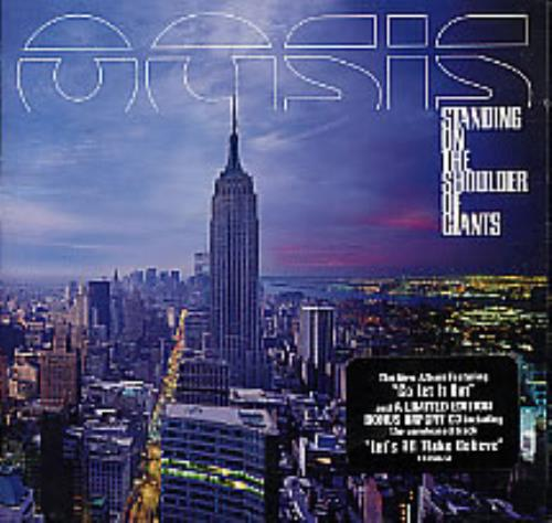 Oasis Standing On The Shoulder Of Giants 2 CD album set (Double CD) Canadian OAS2CST274541
