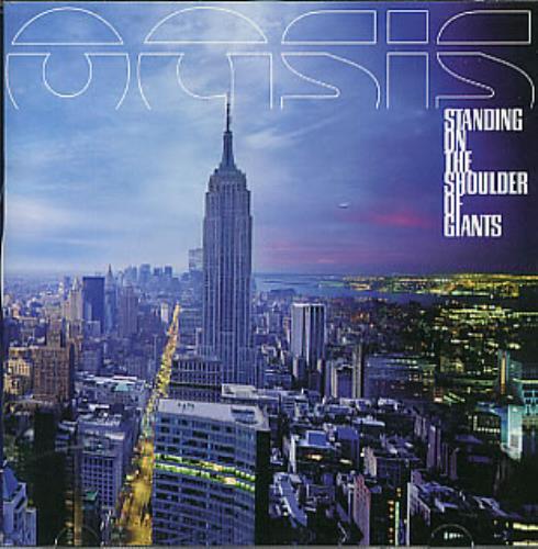 Oasis Standing On The Shoulder Of Giants CD album (CDLP) UK OASCDST274542